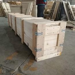 青岛黄岛胶南木质包装箱厂定做木箱 外形美观