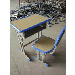学校课桌椅单人升降课桌椅厂家直销
