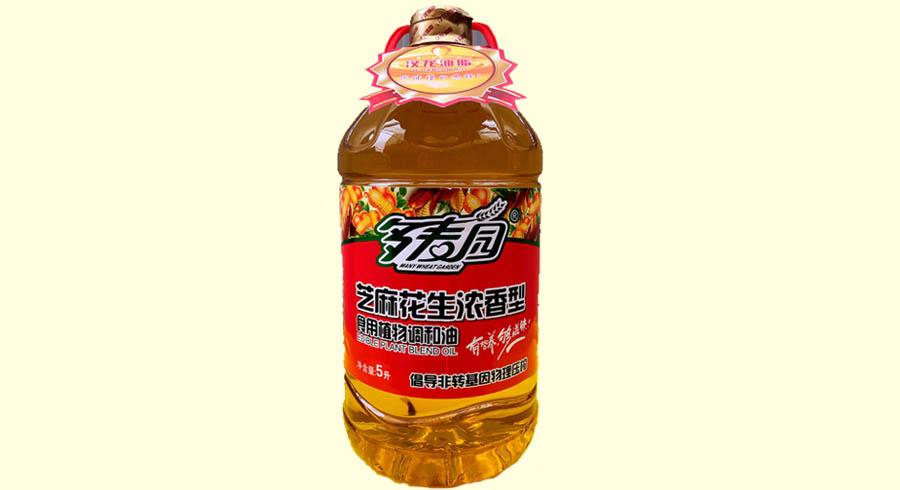 多麦园-芝麻花生浓香型食用植物调和油