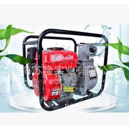 奥玛克ZB80水泵3寸汽油泵抽水灌溉浇水花园园林农用自吸水泵