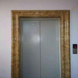 石塑电梯门套仿大理石电梯门套线