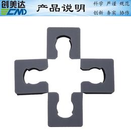 东莞电子产品U型迷你硅胶垫柔韧性能好 中山硅胶密封垫厂家热销