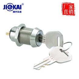 供应厂家广州捷开JK205电源锁 开孔尺寸19mm