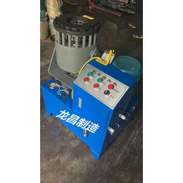 全国销售钢丝绳扣压机 不锈钢管缩口机 锁管机 可定制