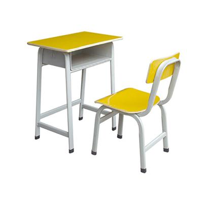 中小学广式弯管固定课桌椅