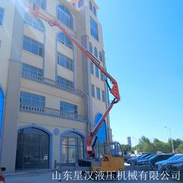 20米折臂升降机 曲臂升降机 升降平台 登高车 高空作业平台