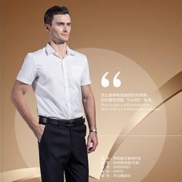 厂家直销 正装衬衫 短袖 男缩略图