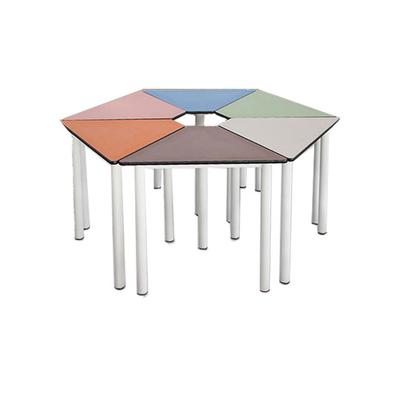 多人组合课桌