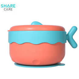 sharecare超级儿童餐具 宝宝注水保温碗吸盘碗儿童碗