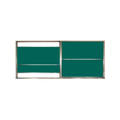 铝合金双组升降单面黑板