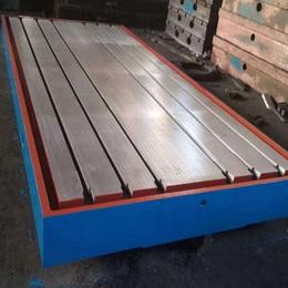 铸铁平台 1米2米3米4米5米铸铁装配平台T型槽工作平板