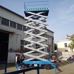 18米全自行升降机 液压驱动升降作业车报价乐山市18米升降车