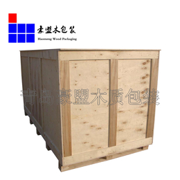 胶州木箱加工厂 胶合板全封闭设备木箱定做 上门测量加固木箱