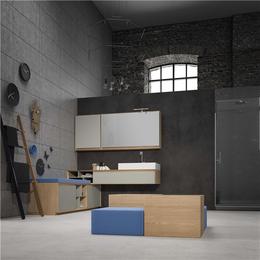 宜铝香家居低价高质-广东零甲醛全铝浴室柜