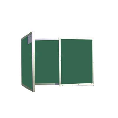 铝合金折叠双面金属绿板