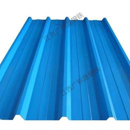 蓝色耐磨屋顶彩钢瓦现货批发 欢迎订购缩略图