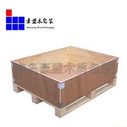 黄岛中德生态园附近出口木箱加工厂免熏蒸胶合板材质特价