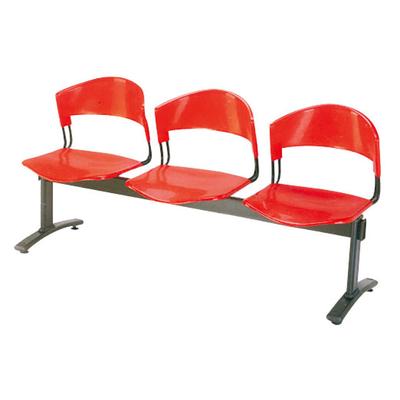 三人钢管玻璃钢连排椅