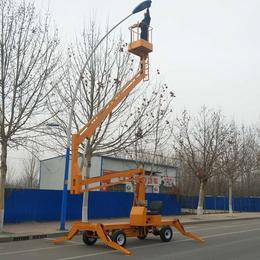 14米曲臂升降机 孝昌县高空作业举升机报价 自行升降机报价