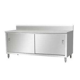 企事业精工制作不锈钢防腐防锈单通道厨房工作台