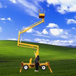 14米曲臂升降机 柴油机自行式升降车 星汉电动高空作业平台