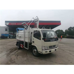 一辆粪便垃圾清运车多少价钱-能拉14吨15吨污泥自卸车报价