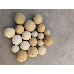 供应各种规格高铝耐火球 硅质耐火球