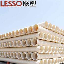 PVC 双壁波纹管 高密度聚乙烯螺旋波纹管