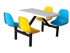 四人座快餐餐桌