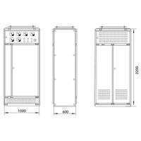 关于GGD型低压配电柜结构的介绍