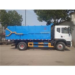 12吨干粪湿粪运输车-13方15方牛粪猪粪鸡粪运输车