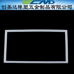 江门硅胶配件定做无毒无害肇庆压缩设备矩形硅胶密封垫圈开发设计