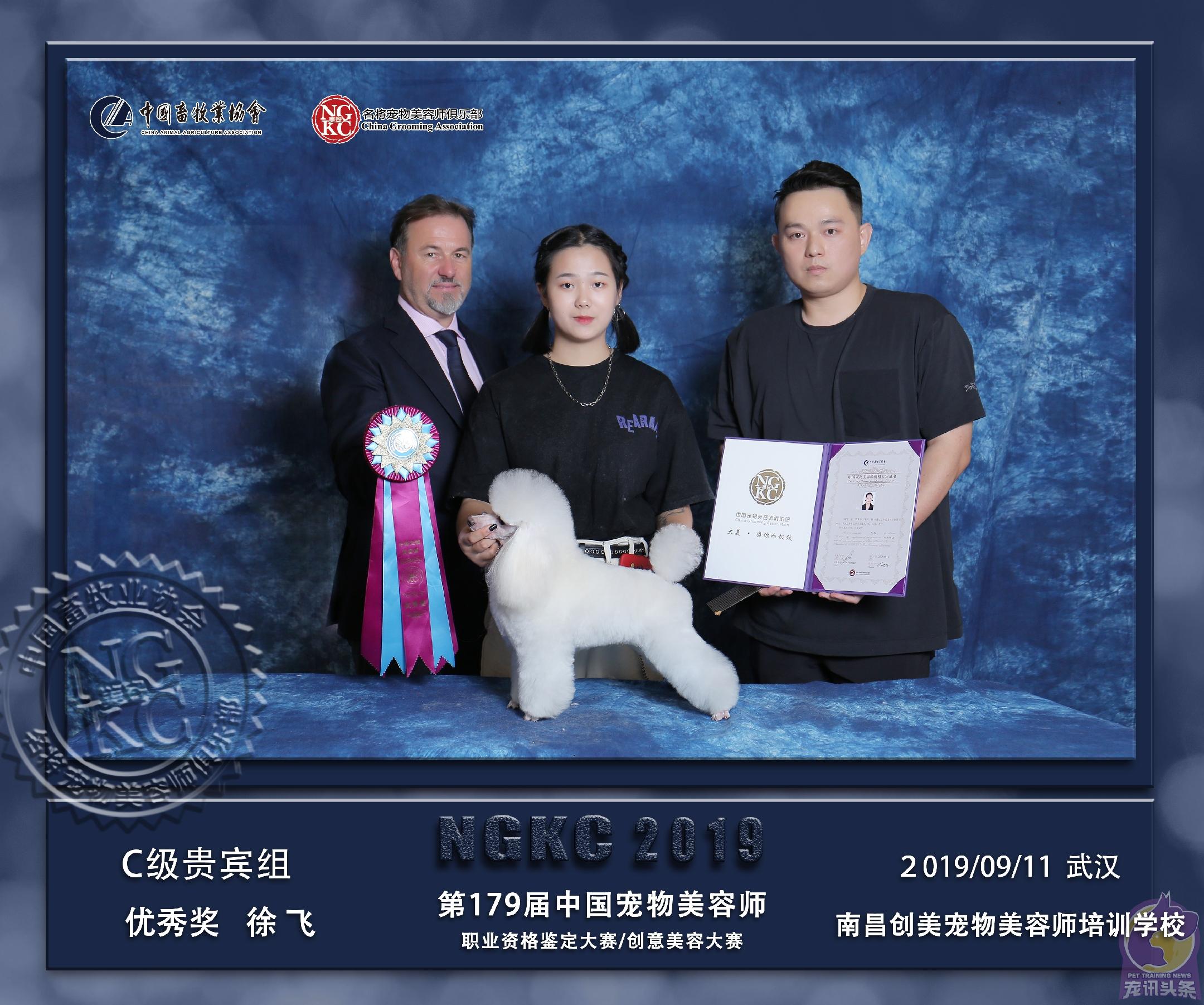 """第179届  中国宠物创意美容职业资格鉴定大赛 """"创美取得优异成绩"""""""