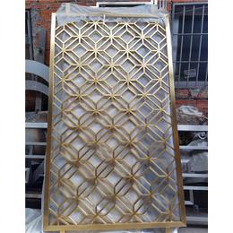 香槟金不锈钢屏风-北京不锈钢屏风-花玄屏不锈钢