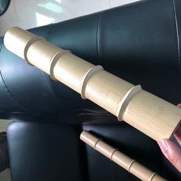 定制 竹皮造型圆管吊顶 铝合金竹纹天花 竹纹铝格栅