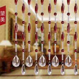 【晶鹏水晶】款式丰富(图)-水晶门帘多少钱-水晶门帘
