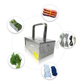 香肠全自动打捆机效果-甘鲁机电设备-香肠全自动打捆机