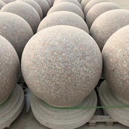 挡车石球-卓翔石材-挡车石球规格尺寸