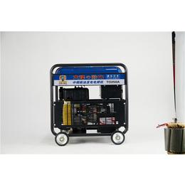 250A柴油发电电焊机带轮子的
