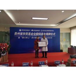 贵州省扶贫癫痫正式揭牌贫困癫痫患者援助10000元