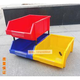 供应P组立4501号零件盒450乘300乘177斜口塑料箱