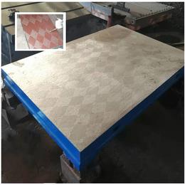 供应铸铁划线平台 1米2米测量铸铁平板 划线铸铁工作台厂家