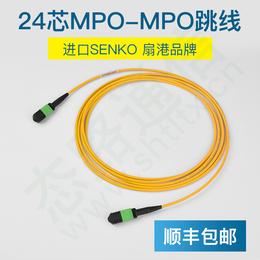 24芯MPO一MPO单模万兆G657A进口MPO