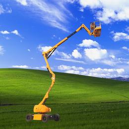 外墙维护升降机 18米曲臂升降机18米折臂升降平台供应升降车