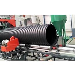 圣通钢带增强HDPE聚乙烯螺旋波纹管直供沭阳现货