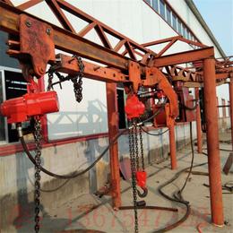 金诚DQD矿用气动单轨吊厂家低价特卖高压胶管托运单轨吊车