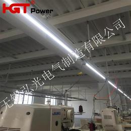 缝纫车间供电桥架 塑钢母线槽 照明动力一体式母线