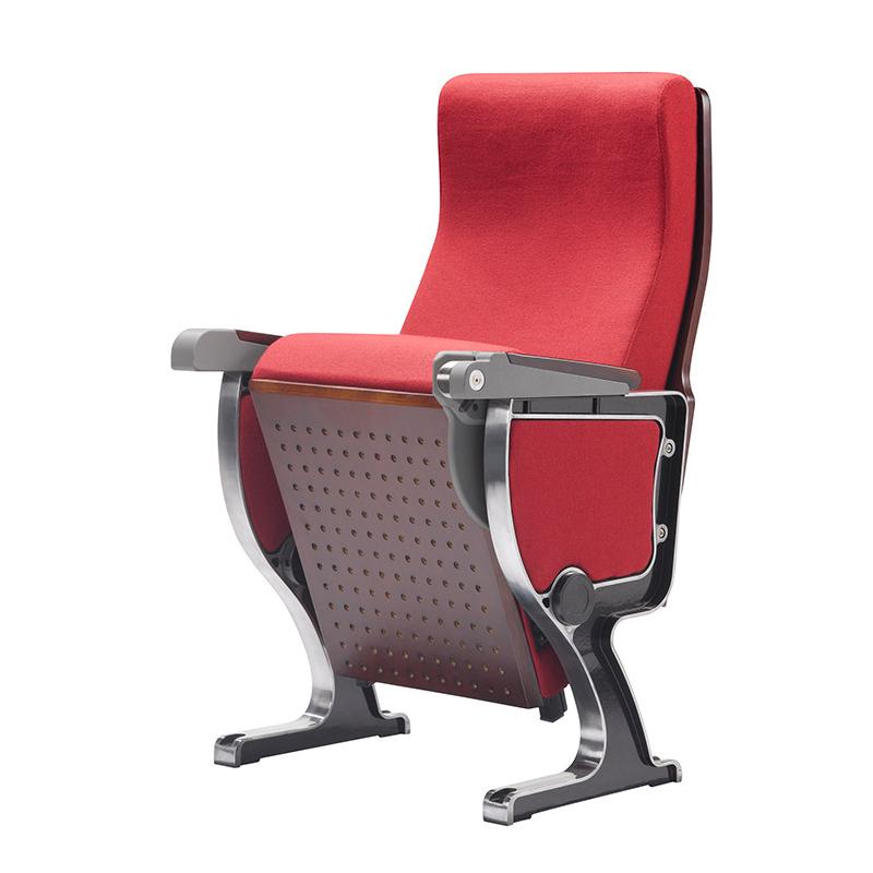 弹簧+阻尼PU定型铝合金会议椅