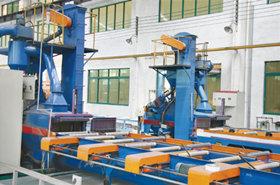 铝型材喷砂机器