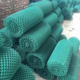 广州穗诚厂家直销镀锌勾花网大量现货绿色包胶勾花网球场围网